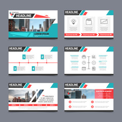 Presentation templates set