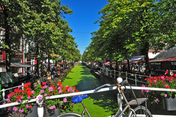 I canali di Delft - Olanda - Paesi Bassi