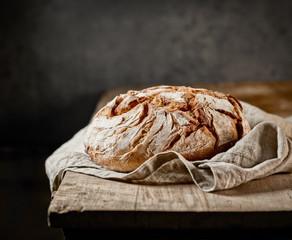 freshly baked bread