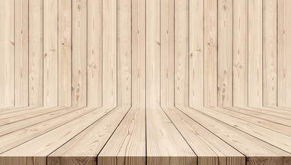 Wood texture background. oak wood wall and floor