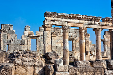 Apamea ruins Syria