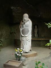 鎌倉市の浄智寺にある布袋尊像