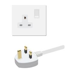 Uk socket and plug