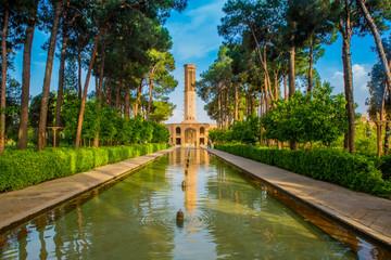 Jardin de Dolat Abad à Yazd (Iran)