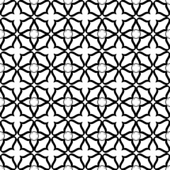 Flower abstract seamless pattern 1