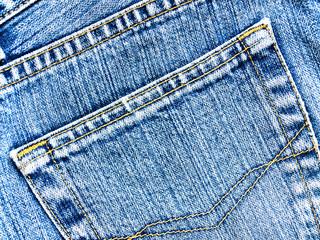 Striped textured blue used dirty jeans denim linen vintage backg