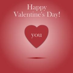 Happy valentine's day! - Love You