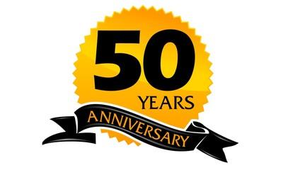 50 Years Ribbon Anniversary