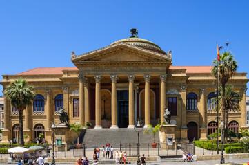 Teatro Massimo en Palermo, Sicilia