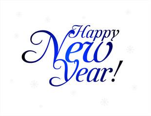 Happy New Year. Vector