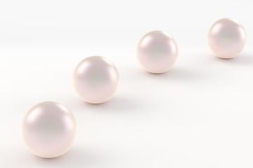 真珠の3DCG