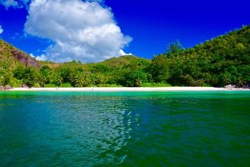 Petite Anse Kerlan, Praslin, Seychellen