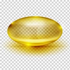 Transparent Capsule Image