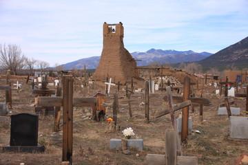 Taos cemetery