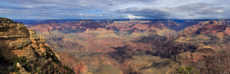 Impressive Landscape from South Rim of Grand Canyon, Arizona, Un