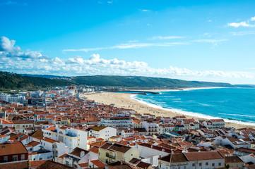 ナザレ(ポルトガル)の風景
