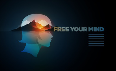 Free Your Mind Design Template