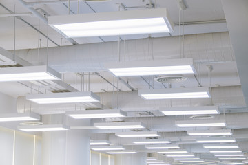 Beautifully lights and ventilation system.