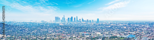 Wall mural Blue sky over Los Angeles