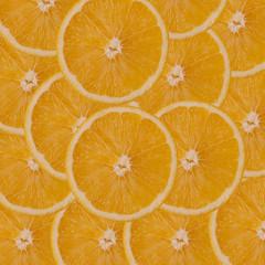orange slices background.