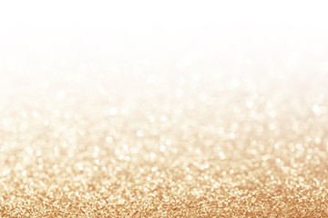 Abstract glitter gold background