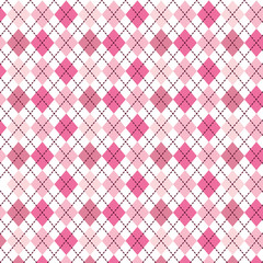 pink pattern with diamond shapes vector illustration
