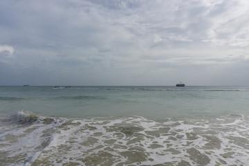 ocean view from corn island, Nicaragua