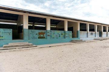 african village school in Zanzibar