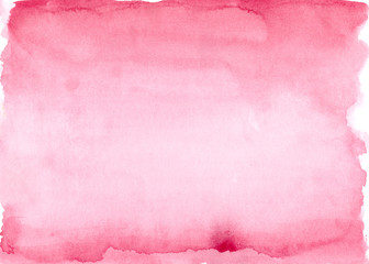 Red watercolor gradient background