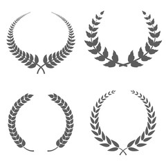 Laurel Wreaths Vector illustration