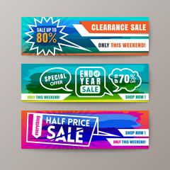 Promotion Sale Discount Web Banner