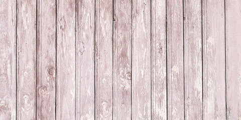 Background of wooden red old fence