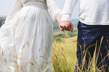 Couple in Green Grass