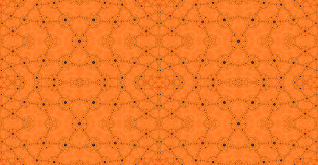 Abstract fractal high resolution seamless pattern background ideal for carpets, tapestries, fabric and wallpapers with a detailed interconnected pattern