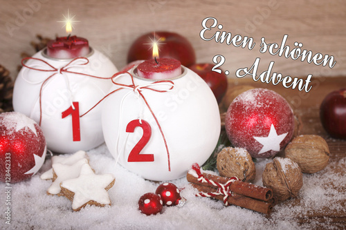 Weihnachtsbilder Zum 2 Advent.Adventsgruss Zum 2 Advent Stock Photo And Royalty Free Images On