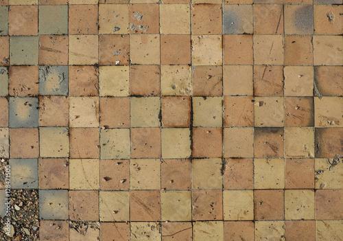 Old floor tiles immagini e fotografie royalty free su file 128471500 - Piastrelle simili al parquet ...