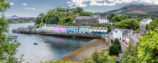 Harbour of Portree (Isle of Skye, Scotland)