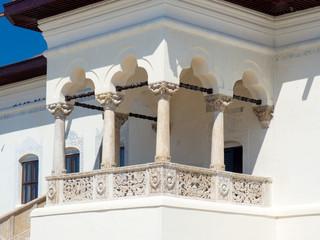 Potlogi palace - balcony detail