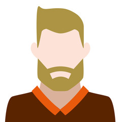 blond man with beard icon avatar