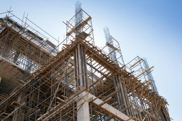 building construction site