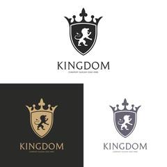 Kingdom.  Lion shield