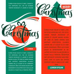 vector collection of christmas season greeting tags, banners and