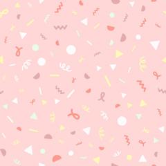Confetti pink pattern