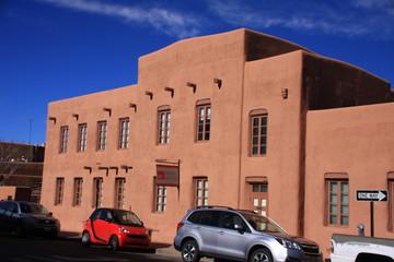 a building in Santa Fe