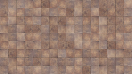 Seamless texture map tile