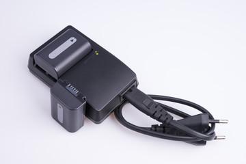 Зарядное устройство с аккумулятором.