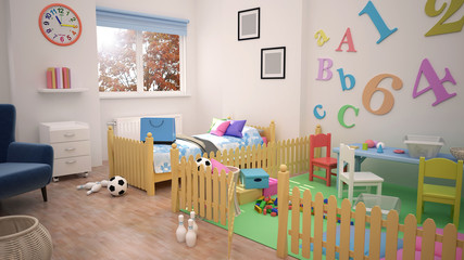 Children Room and Playroom
