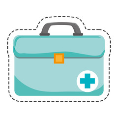medical portfolio isolated icon vector illustration design
