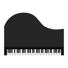 piano instrument musical icon vector illustration design