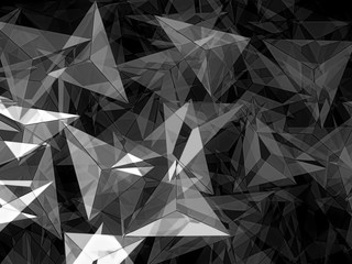 Abstract geometric background - digitally generated image
